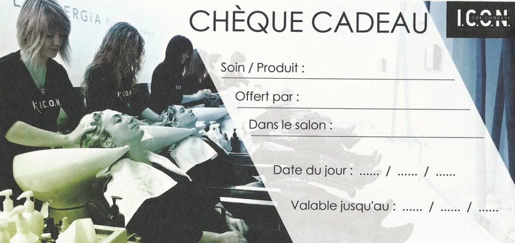 Chèque cadeau Seychelles Coiffure Orvault